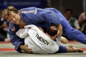 Workshop judo met Dennis van der Geest
